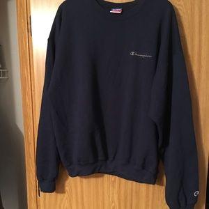 Champion Sweaters - Vintage Champion Crewneck Sweater Cursive Logo XL